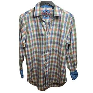 🆕 Robert Graham Button Down Shirt - Sz S